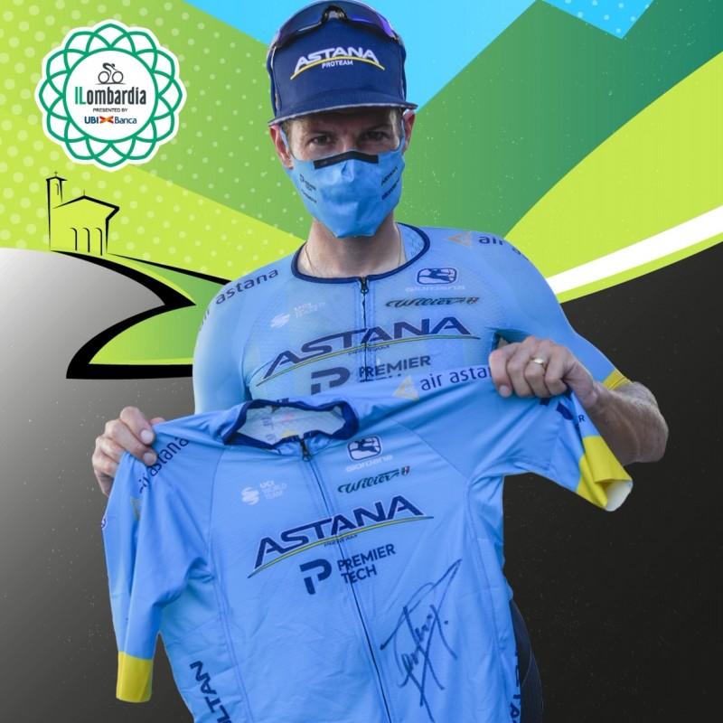 Cycling Jersey Worn by Jakob Fuglsang, Winner of Giro di Lombardia