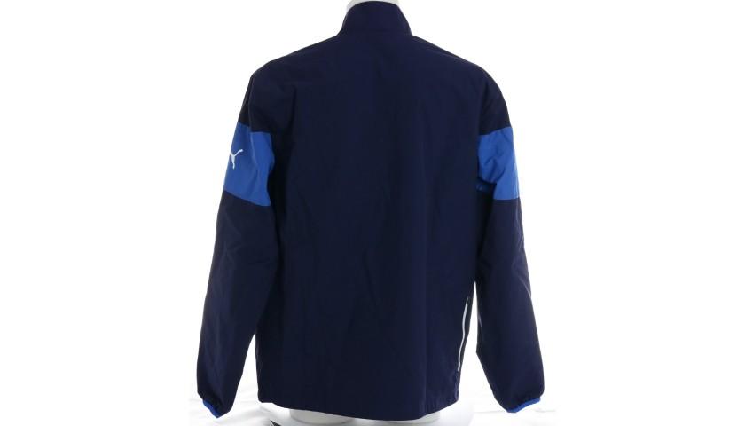Chiellini's Italy Signed Match Shirt, 2014 + Jacket