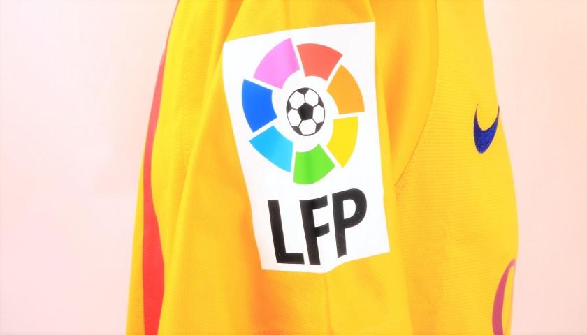 release date: c1c7b 86d35 Iniesta's Barcelona Match Shirt, Liga 2015/16 - CharityStars