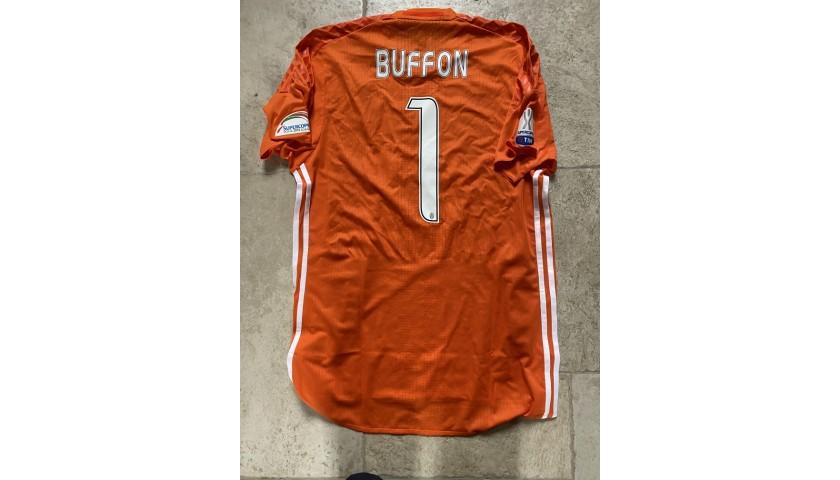 Buffon's Juventus Match Shirt, Supercoppa 2016