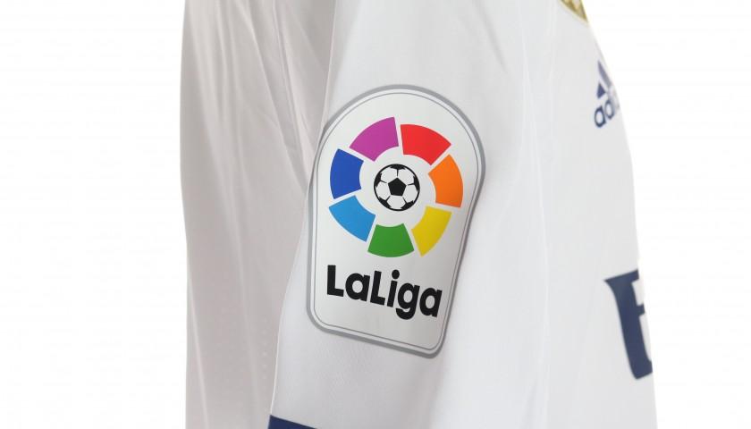 Benzema's Real Madrid Match Shirt, Liga 2016/17