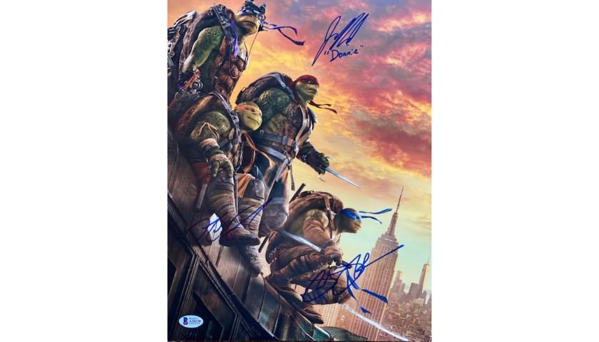 Teenage Mutant Ninja Turtles Signed Photo
