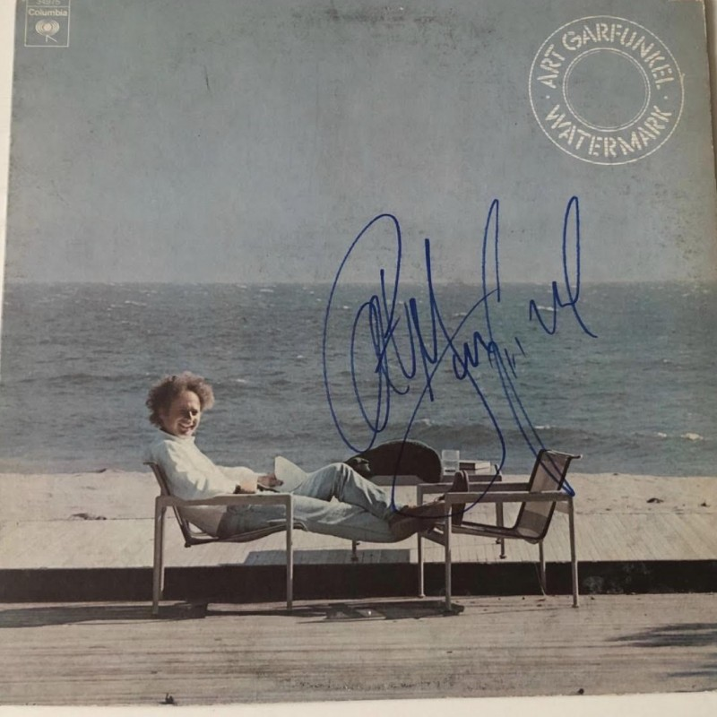 Art Garfunkel Signed Watermark Vinyl LP Certified