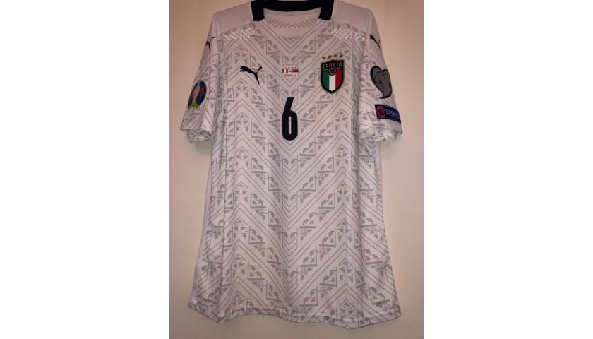 Tonali's Match Shirt, Armenia-Italy 2019
