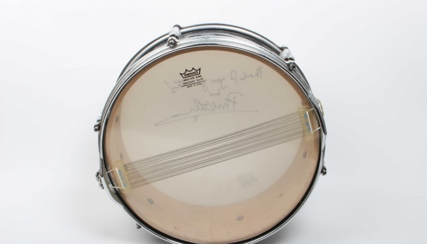 Signed Phil Collins Snare Drum
