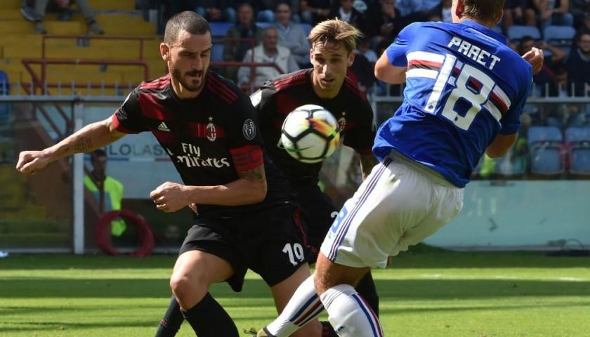 Bonucci's Signed Match-Issued Captain Armband, 2017/18