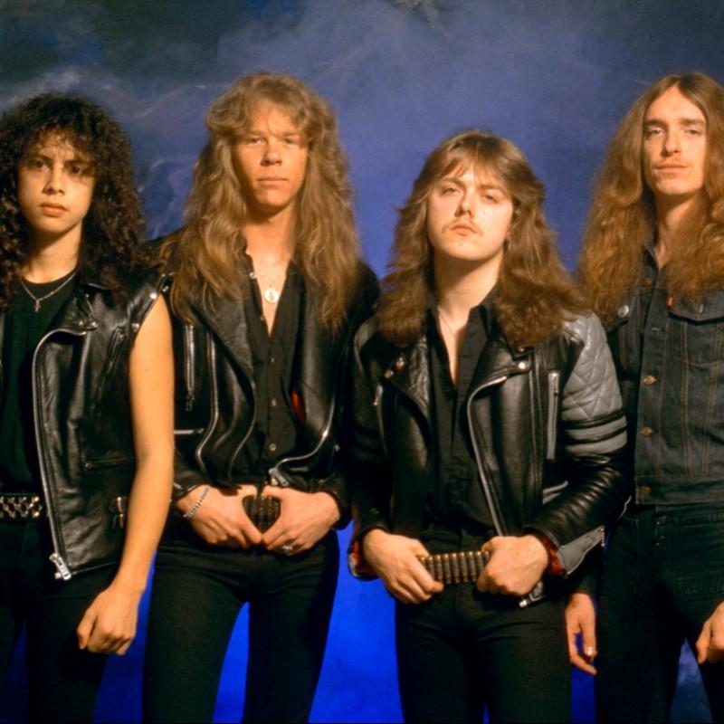 Guitar with Metallica Digital Signatures