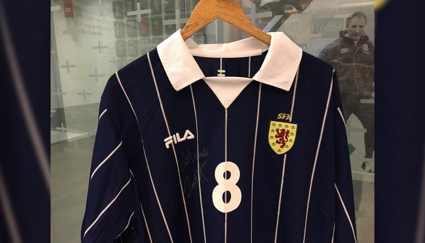 Scotland Football Shirt Signed by Paul Lambert