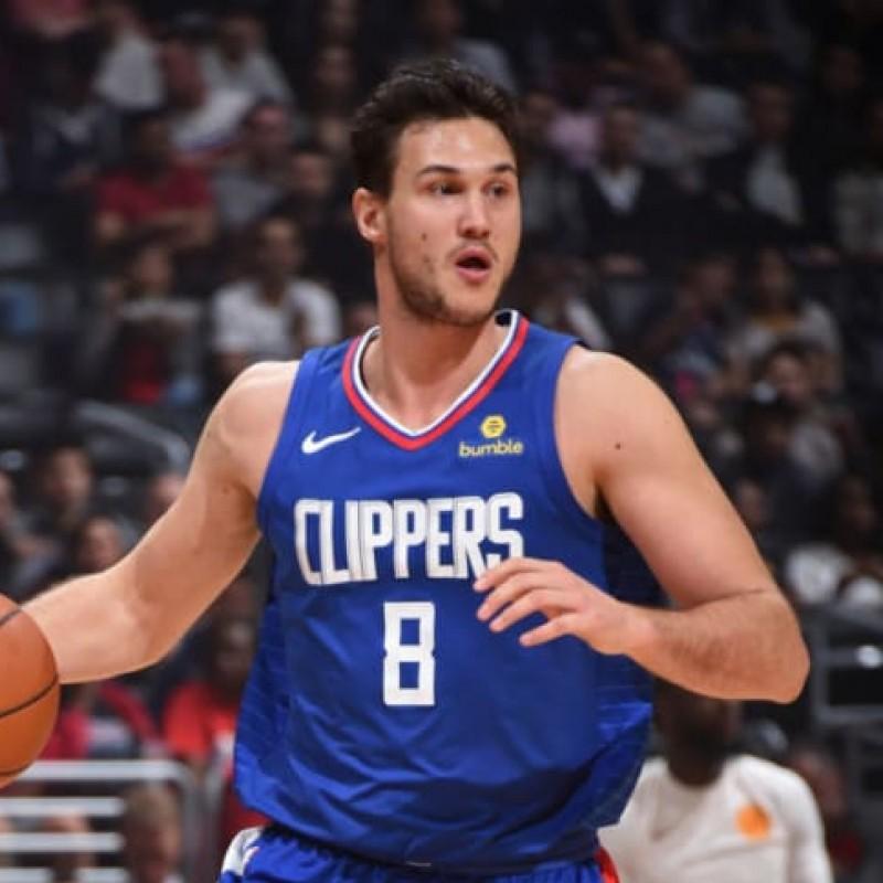 Gallinari's LA Clippers Signed Worn Jersey, 2018/19