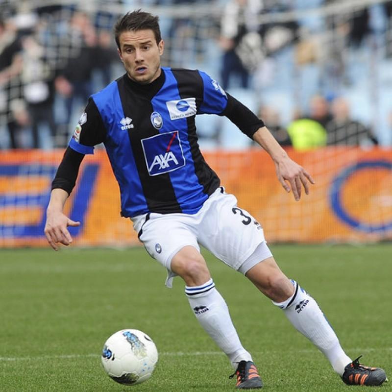 Brighi's Official Atalanta Match Signed Shirt, 2011/12