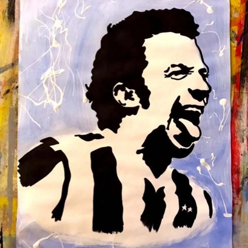 """""""Del Piero"""" Original Artwork by Riccardo Penati"""