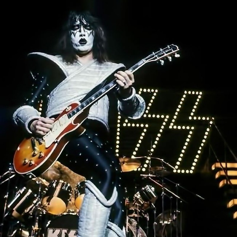 Ace Frehley Boot with KISS Digital Signature