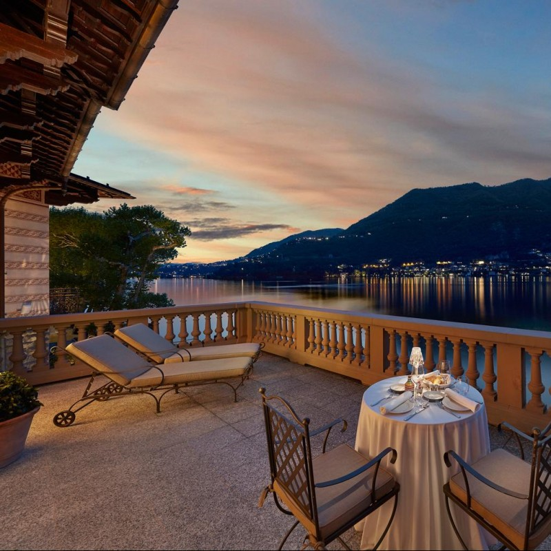 Experience for 2 at the Mandarin Oriental in Como, Italy