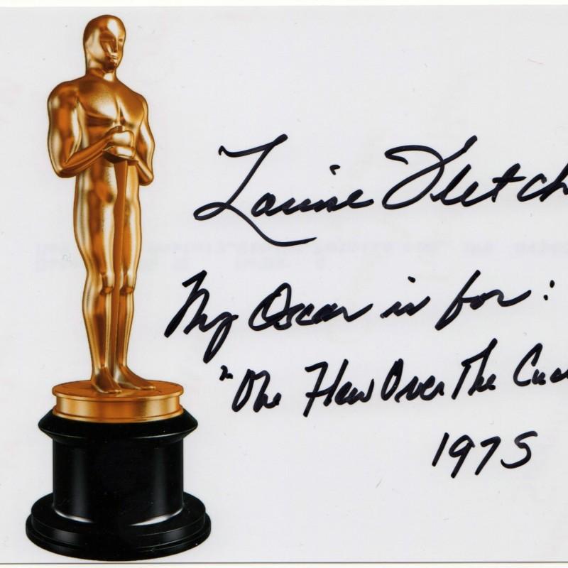 Oscar winner actress Louise Fletcher autograph