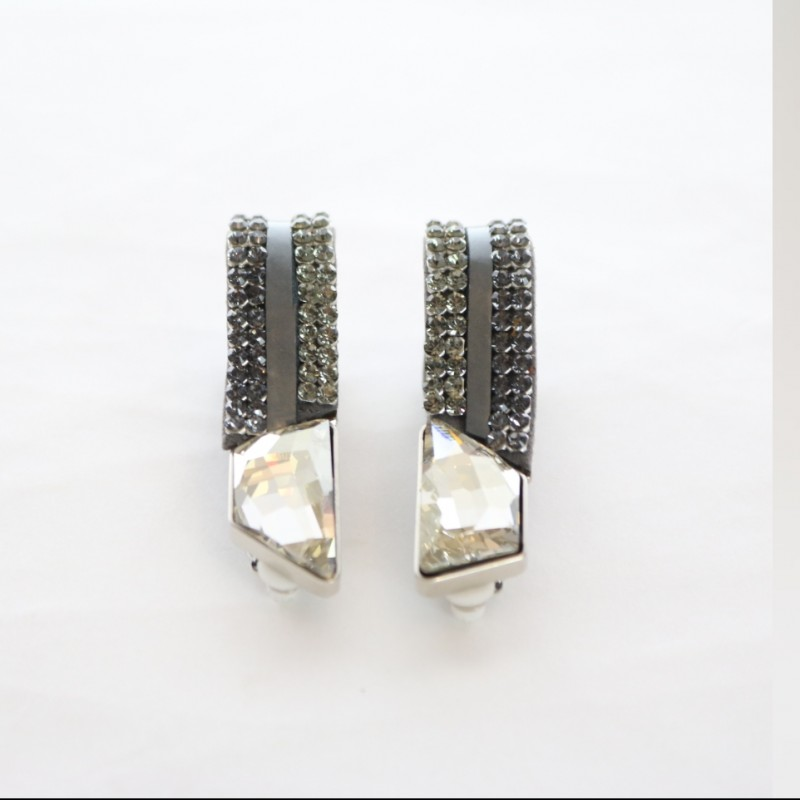 Giorgio Armani Swarovski Earrings