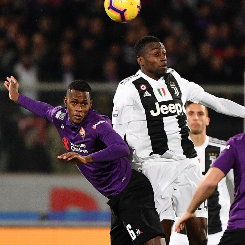Edimilson's Worn Shirt with Mandela Patch, Fiorentina-Juventus
