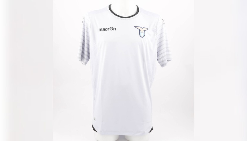 Marchetti's Lazio Worn Shirt, Serie A 2016/17