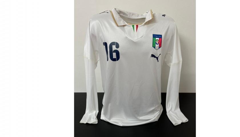 Camoranesi's Italy Match Shirt, 2007/08