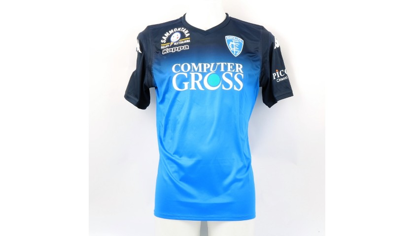 Caputo's Official Empoli Shirt, 2018/19 - Signed