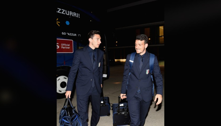 Darmian's Italy National Football Team Shirt by Ermanno Scervino