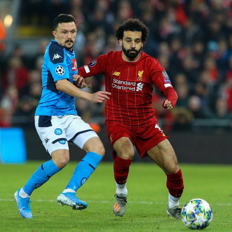 Salah's Match Shirt, Liverpool-Napoli 2019