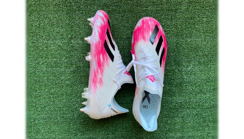 Adidas X 19.1 Boots Issued to Joaquin Correa