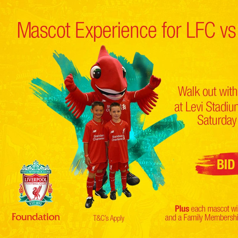 Mascot Experience for LFC vs AC Milan in Santa Clara, USA