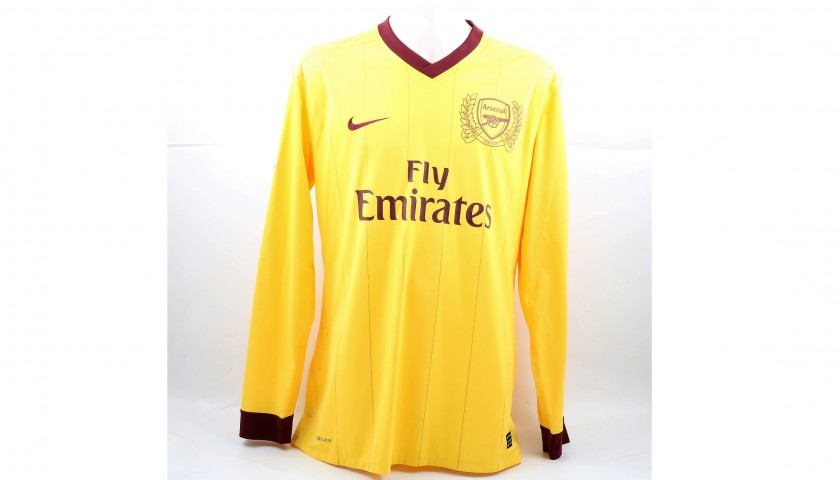 best sneakers b3558 e282a Song's Match-Issued/Worn Arsenal Shirt, 2010/2011 Champions League -  CharityStars