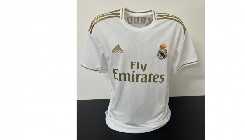 Kroos' Official Real Madrid Signed Shirt, 2019/20