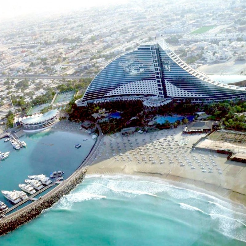 Dubai Jumeirah Beach Hotel for Four