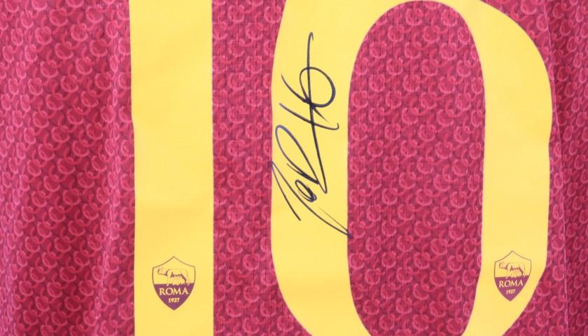 De Rossi's Authentic Roma Signed Shirt, 2018/19