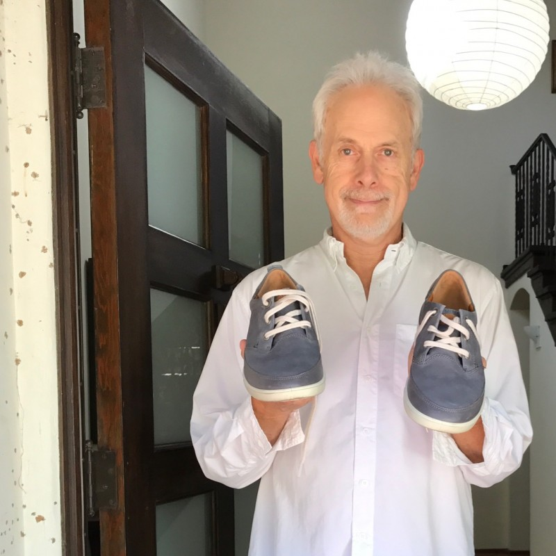 Christopher Guest's Autographed Ecco Shoes from his Personal Collection