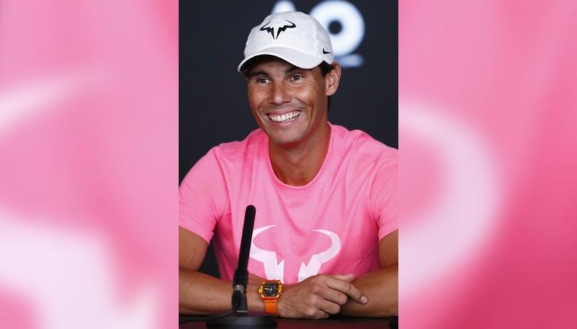 Rafa Nadal Official Signed Cap