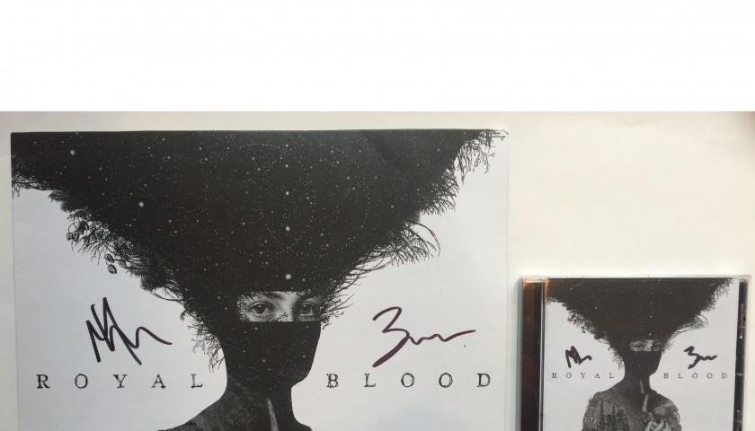 Signed Royal Blood Vinyl And Cd Charitystars