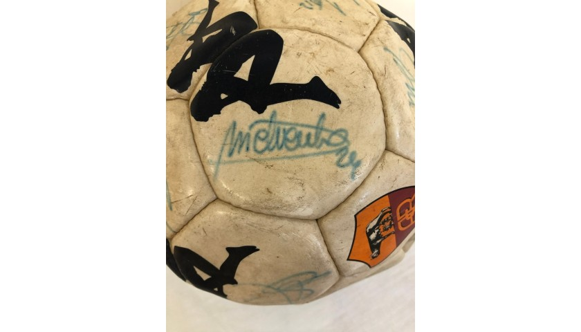 Official Roma Football, 2000/01 - Signed by the Squad