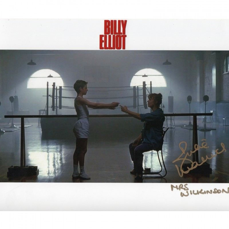 Photograph from the Film Billy Elliot Signed by Julie Walters