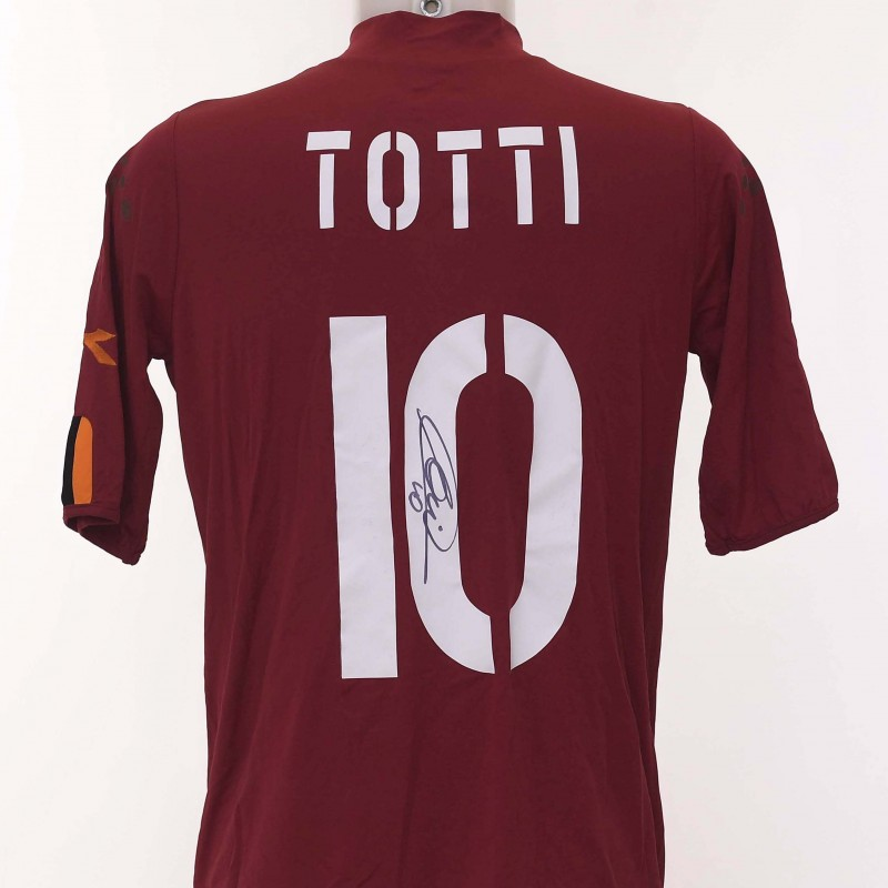 Francesco Totti's AS Roma Signed Shirt, 2003/2004