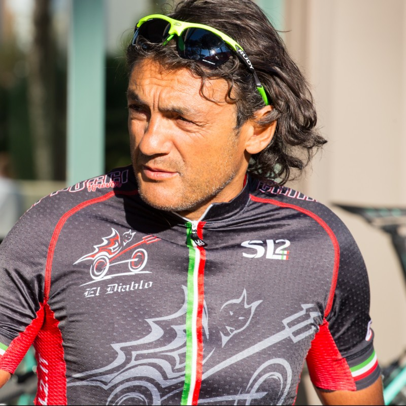 A Bike Ride with Claudio Chiappucci