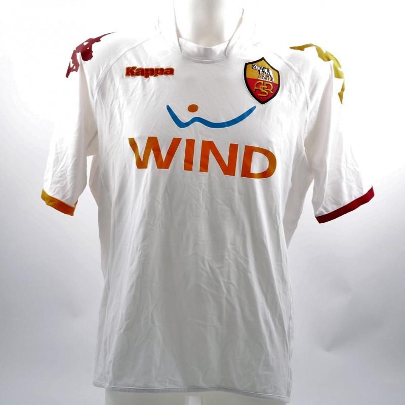 AS Roma Primavera 2008/09 Season Worn Shirt