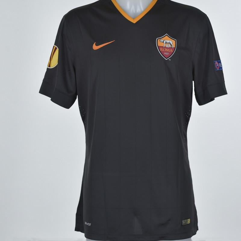 De Rossi's match issued shirt, Feyenoord-Roma
