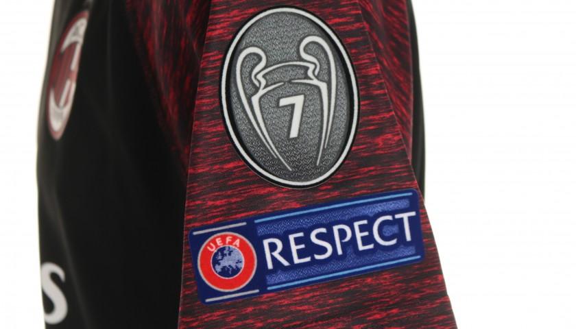 Romagnoli's AC Milan Match Shirt, EL 2018/19