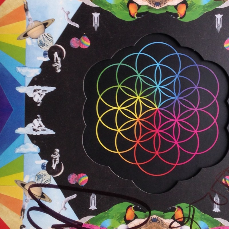 "Coldplay ""A Head Full of Dreams"" Vinyl - signed"