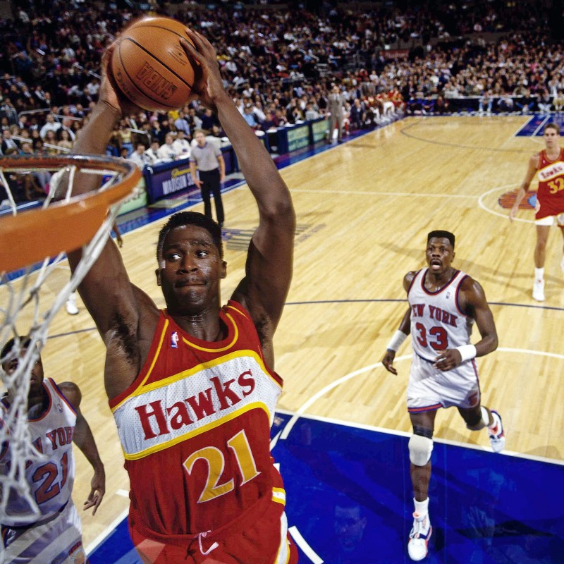NBA Legend Dominique Wilkins' Personal Seats to See the Atlanta Hawks + a Signed Jersey