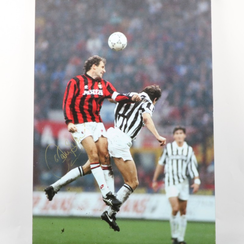 Baresi Milan Maxi-photo - Signed