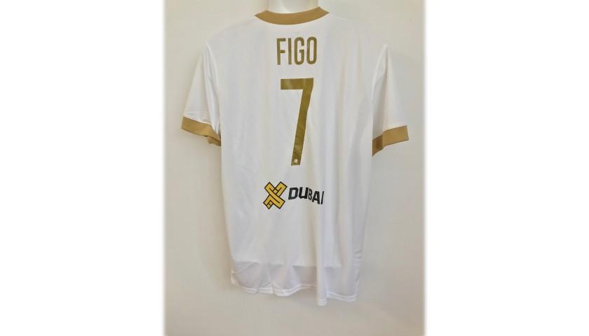 "Shirt Issued to Luis Figo for ""La Notte dei Re"" Event"