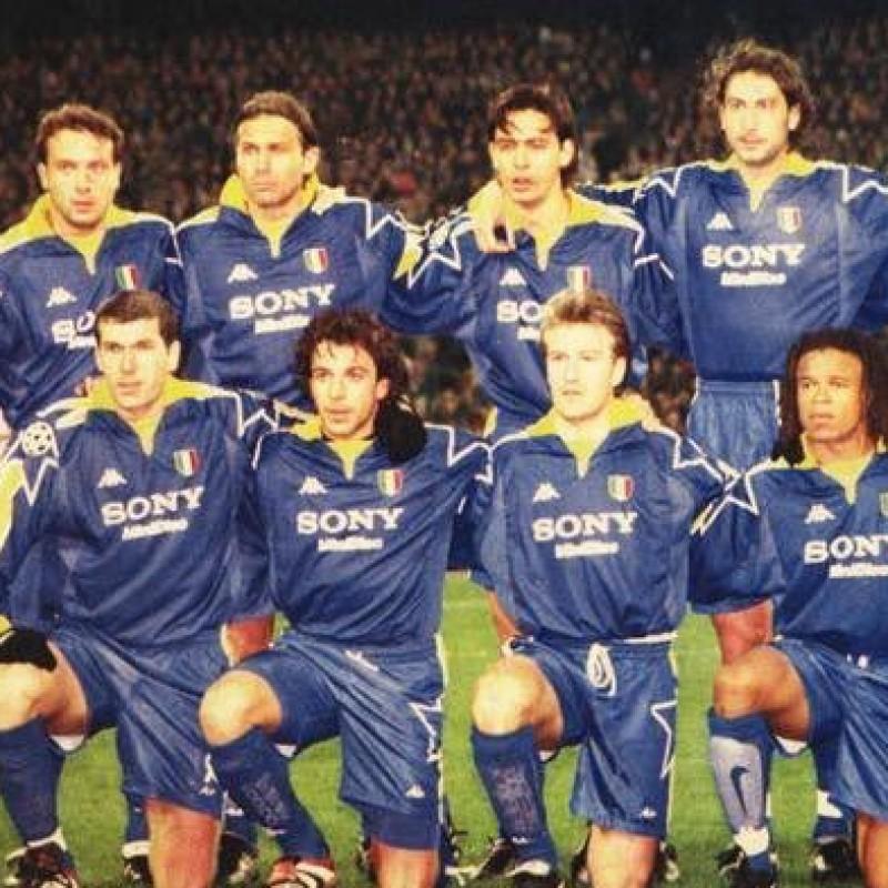 Blanchard's Juventus Match Shirt, Champions League 1998/99