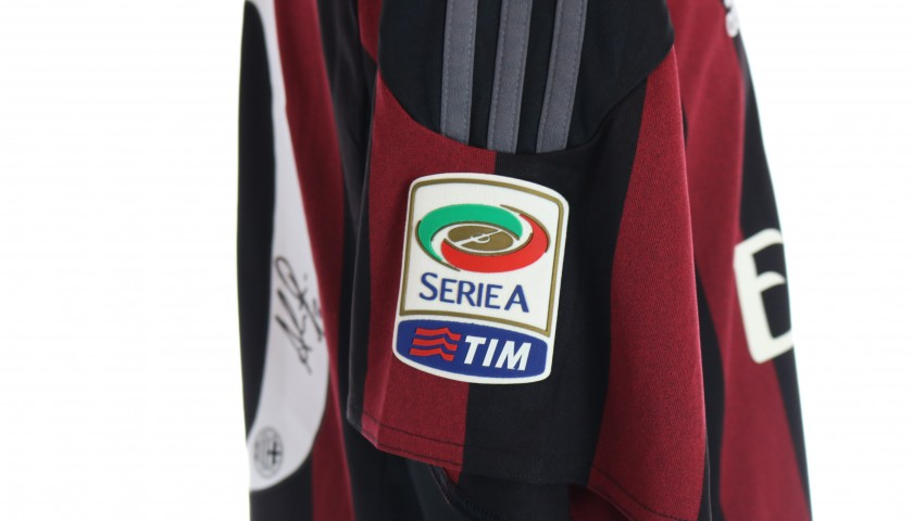 Bacca's Official Milan Shirt, 2014/15 - Signed by the Players