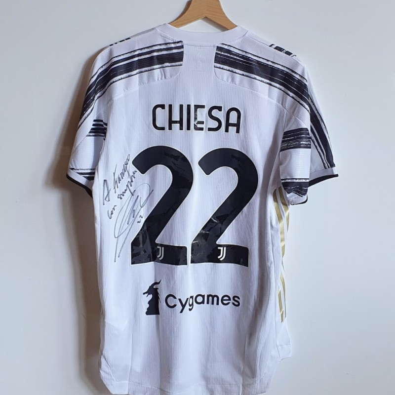 Chiesa's Match-Worn Juventus FC Signed Shirt