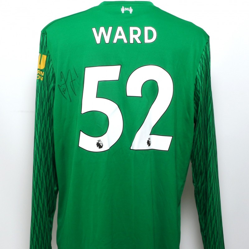 """Ward Signed Limited Edition """"Seeing is Believing"""" 2017/18 Liverpool FC Shirt"""
