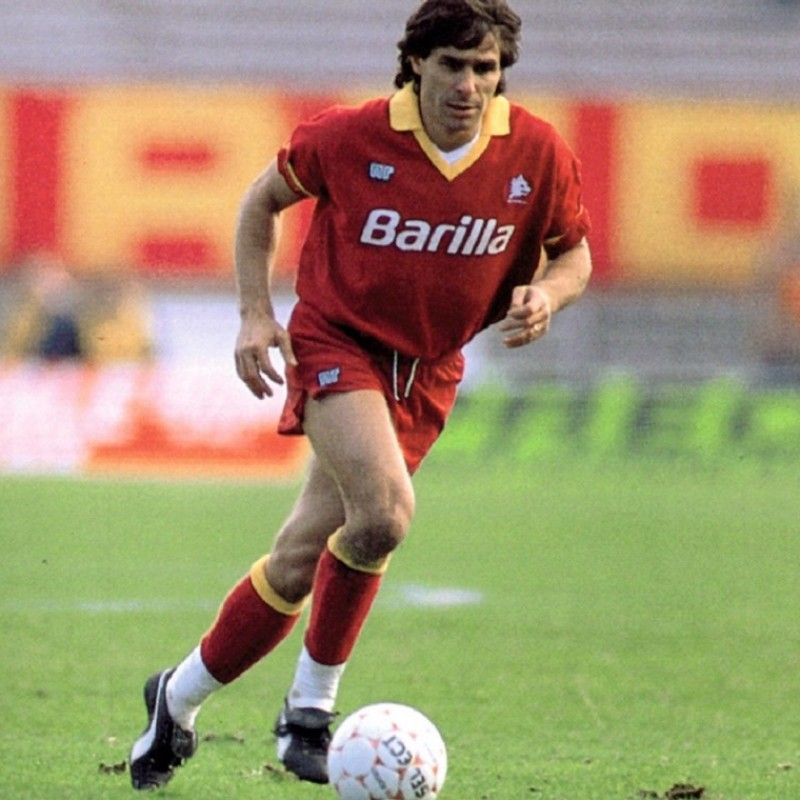 Conti's Roma Match Shirt, 1989/90